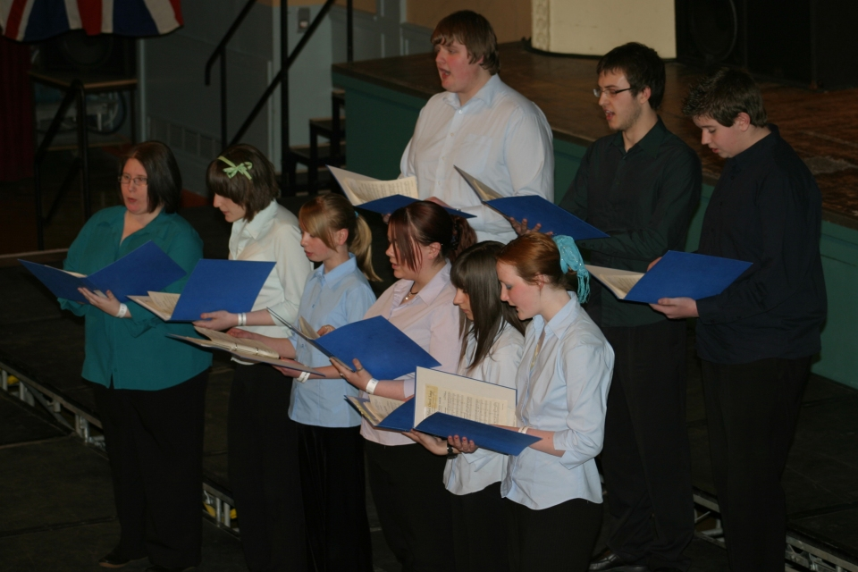 Choral Prom, individual section - 2009